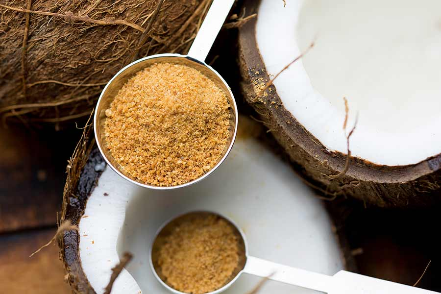 Organic Coconut Sugar for People on a Diet